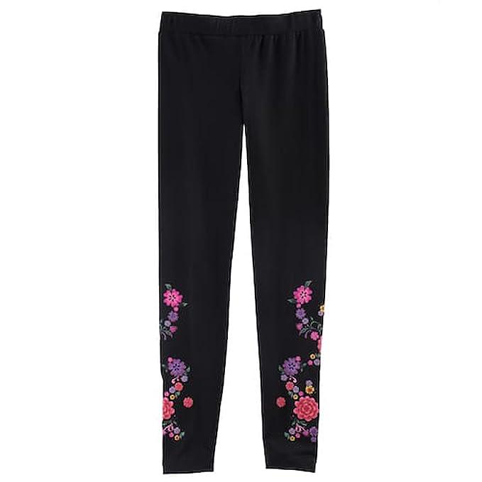 2013f81069693 Amazon.com: COCO Disney Girls Floral Design Leggings: Clothing