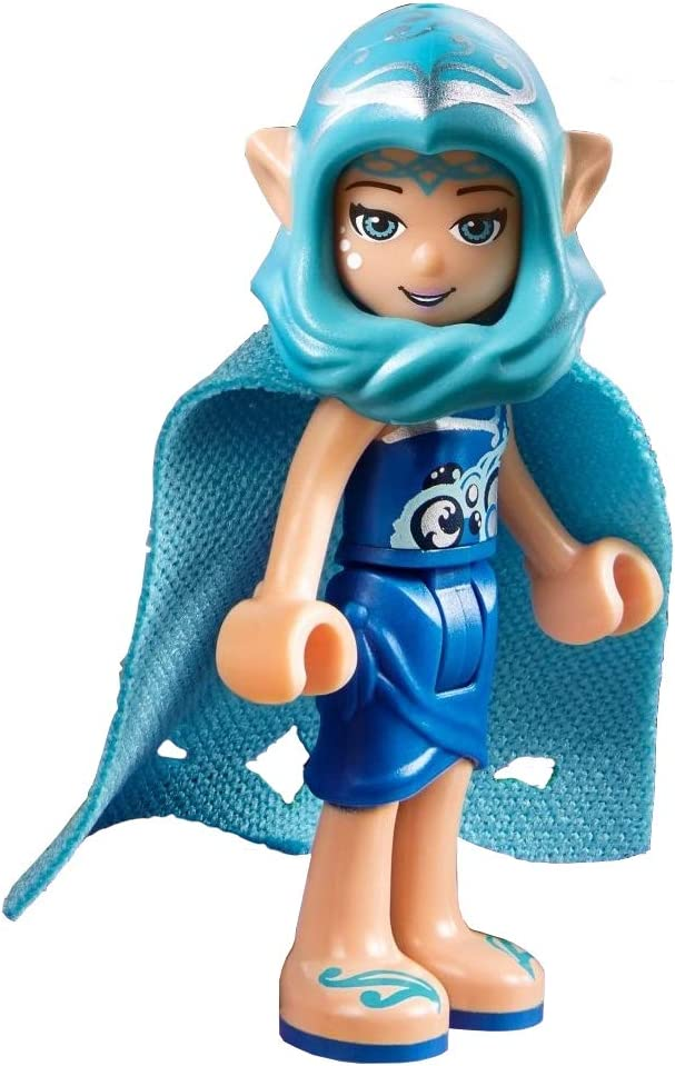 LEGO Elves MiniFigure - Naida Riverheart (Long Cape and Hood) 41180