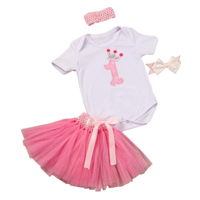 Vestidos Bebé, Switchali recién nacido Bebé Niña Moda Cumpleaños ...