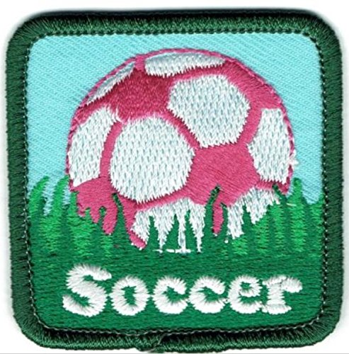 Cub Girl Boy SOCCER Embroidered Iron-On Fun Patch Crests Badge Scout Guides