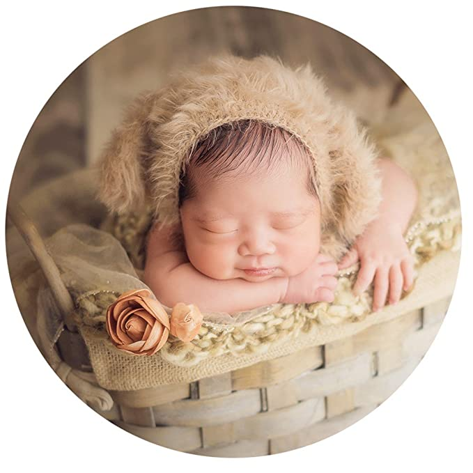 a2ad51d6c9391 Baby Photography Props Hat Newborn Photo Shoot Outfits Infant Boy Girl  Crochet Costume Knitted Hats (