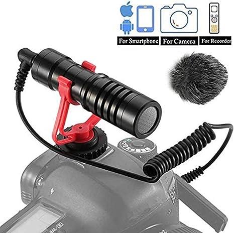 Dazzne Video Micro Cámaras Compacto Micrófono Condensador ...