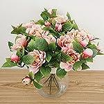 Lopkey-2-Bunch-Silk-Artificial-Gardenia-Flowers-Wedding-Home-DecorRed