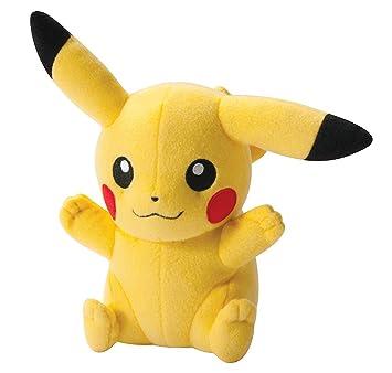 pokemon center plush doll pikachu sitting ver amazon co uk toys