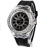 Geneva レインボーLED腕時計