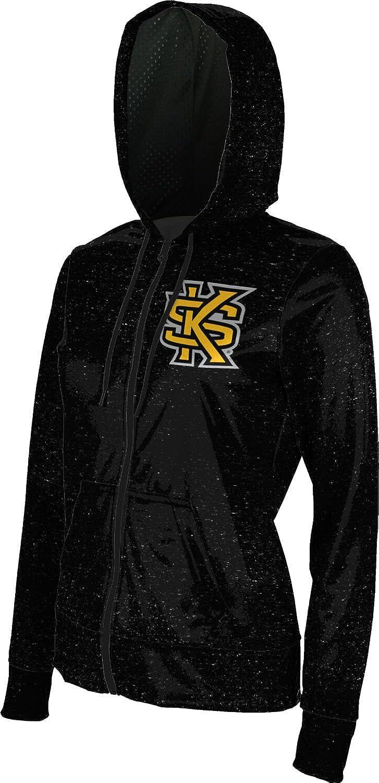School Spirit Sweatshirt ProSphere Kennesaw State University Womens Zipper Hoodie Heather
