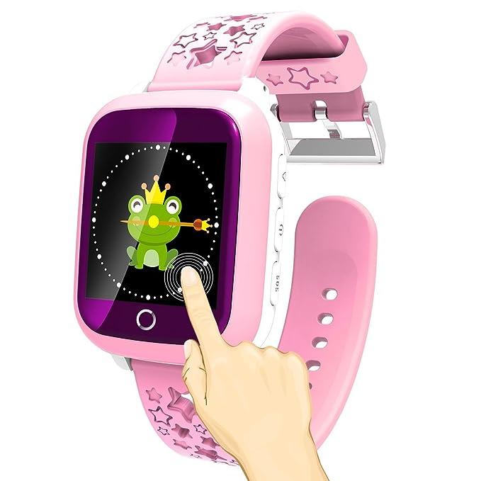 turnmeon a15s 1,44 pantalla táctil reloj inteligente niños GPS ...