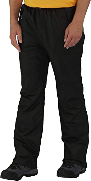 Regatta Mens Chandler Iii Waterproof and Breathable Lined Short Leg Trousers