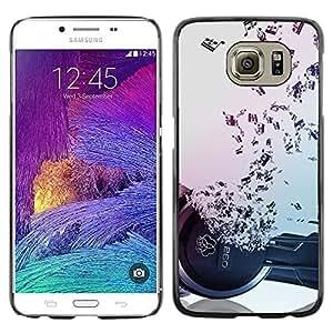 Be Good Phone Accessory // Dura Cáscara cubierta Protectora Caso Carcasa Funda de Protección para Samsung Galaxy S6 SM-G920 // Music Notes Hiphop Dance Rap
