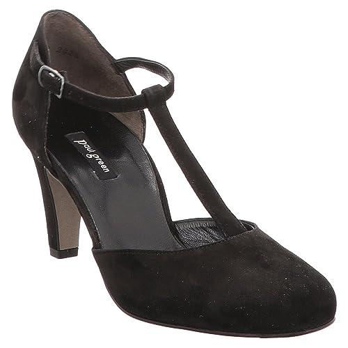 Paul Green Adele Gamuza Vestido Zapato de Corte Black 4