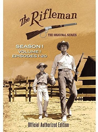 The Rifleman: Season 1 Volume 1 (Episodes 1 - 20) Chuck Connors Johnny Crawford Paul Fix Team Marketing