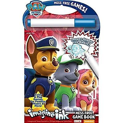 Nickelodeon Bendon Paw Patrol Imagine Ink: Mess Free Game Book: Toys & Games