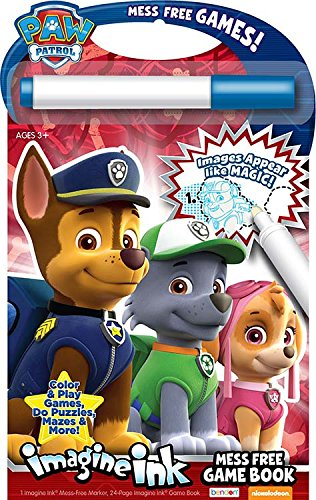 Nickelodeon Bendon Paw Patrol Imagine Ink: Mess Free Game -