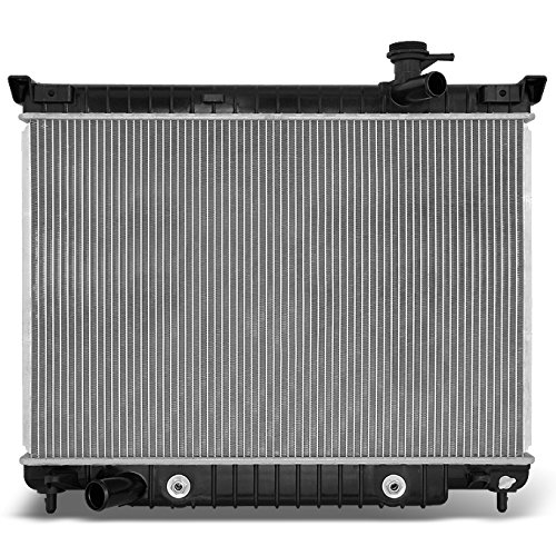 L6 4.2L Rainier Trailblazer Envoy Ascender Bravada 9-7X Aluminum Radiator Direct Bolt On Replacement