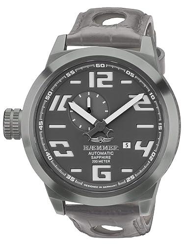 Haemmer HM-05 - Reloj de pulsera de hombre color gris: Amazon.es: Relojes