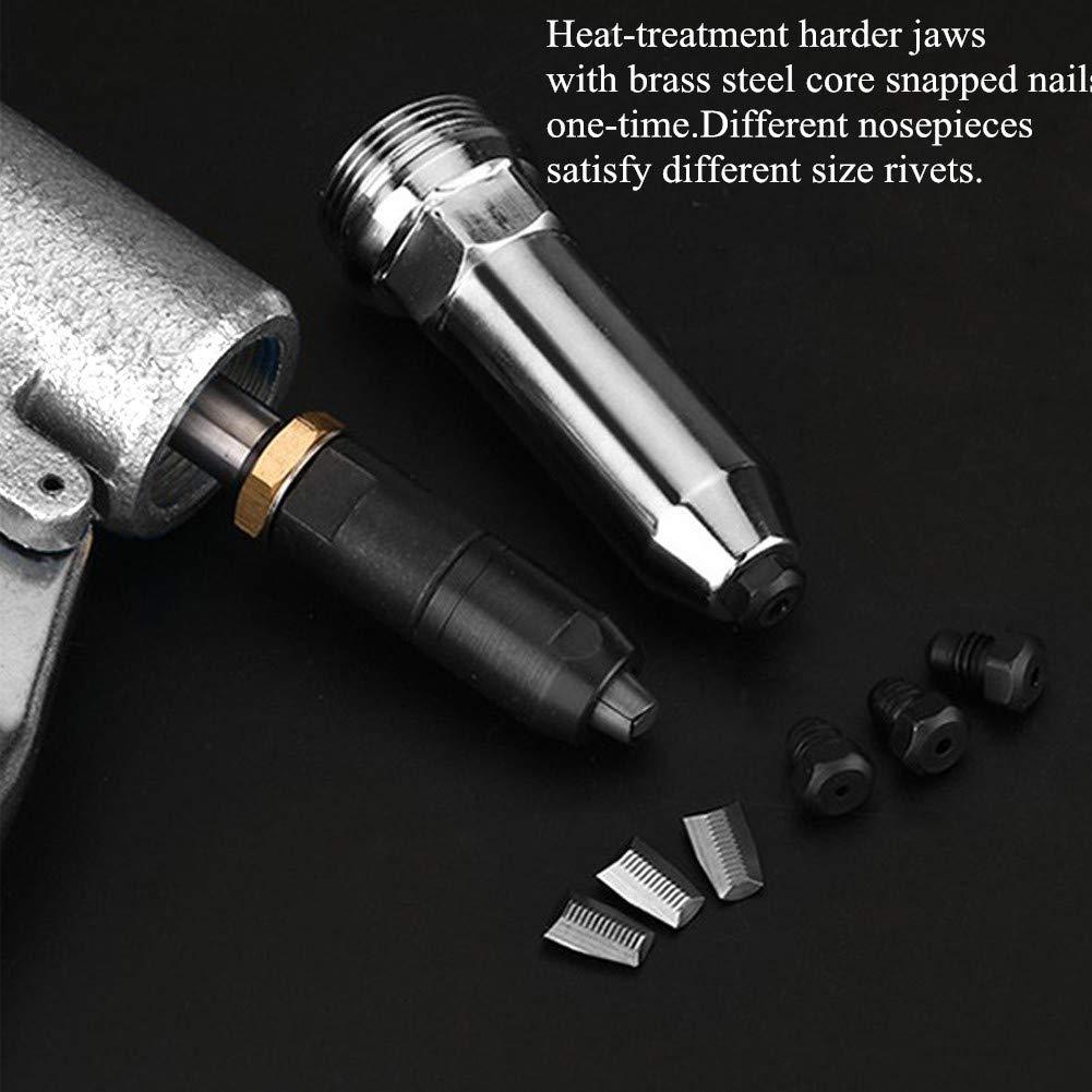 ZHONG AN 1/4-inch Air Rivet Gun-Air Riveter Strong Pull 3086Lbf with 3/4 inch Working Stroke Professional Pneumatic Rivet Gun by ZHONG AN (Image #4)