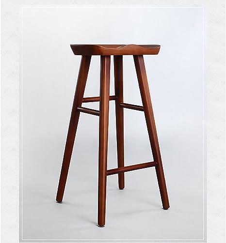 LHby taburetes de Bar, Taburete de Bar para Cocina, Bar, para de Bar Pub Bistro Barra Cocina Cafetería Comedor Jardín Taburetes (Tamaño : 42 * 40 * 55cm): Amazon.es: Hogar