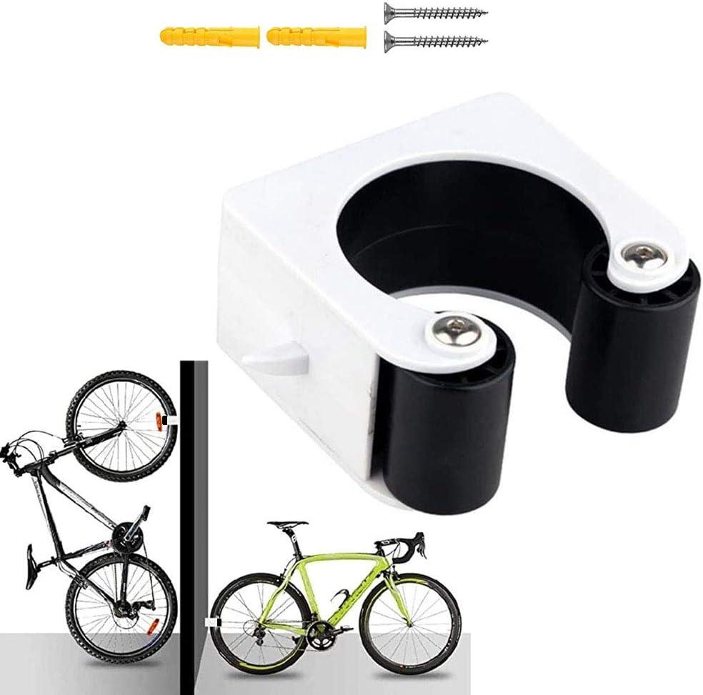 Bike Parking Rack Portable Bicycle Parking Buckle Indoor Bike Storage Display Stands Bike Storage Holder Wall Mount Hanger with Buckle Mountain Bike Tool Kit for Space Saving