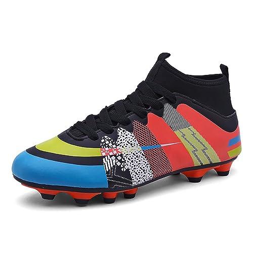 a9063feb6ea22 Easondea Botas de Fútbol Zapatos de Fútbol Dedicados FG Spike Grapas de  Fútbol Profesional Unisex Niño Deportes Al Aire Libre  Amazon.es  Zapatos y  ...