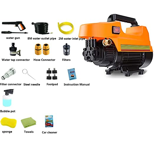 Lavadora de coches de alta presión - Máquina de limpieza portátil ...