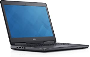 Dell PRM7520GCKY5 Precision 7520 Mobile Workstation with Intel i7-6820HQ, 8GB 1TB HDD, 15.6""