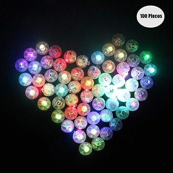 Yuccer Mini LED Bombillas Luz, Balloon Lights para Globo ...