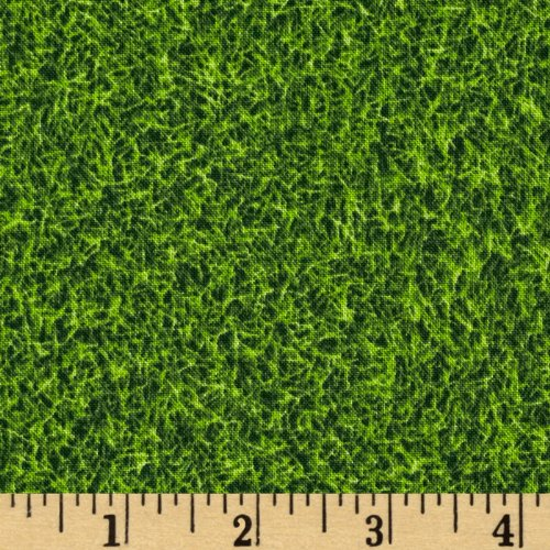 Kaufman Sports Life Grass Turf Grass Fabric By The (Grass Yard)