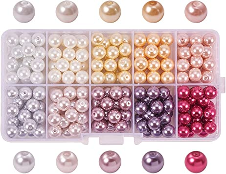 CRACKLE CRYSTAL GLASS CHARMS SPACERS 500 BEADS 8 MM EARRINGS JEWELRY MAKING