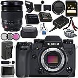 Fujifilm X-H1 Mirrorless Digital Camera (Body Only) 16568731 XF 16-55mm f/2.8 R LM WR Lens 16443072 Bundle