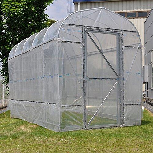野外ミニ温室:ヒロガーデン2坪タイプ[180×360×高さ230cm] B07846CC4S