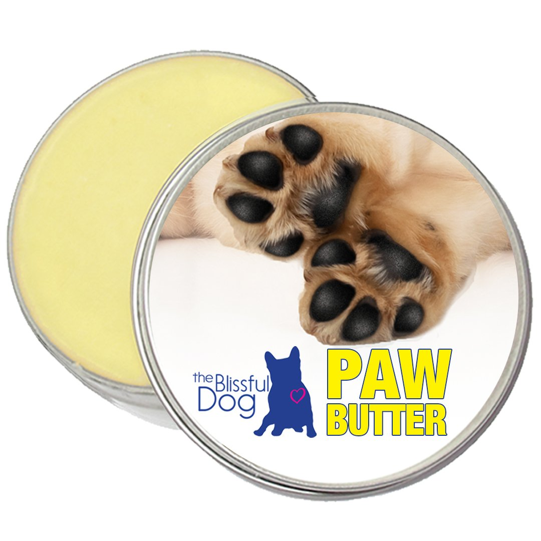 The Blissful Dog Paw Butter for Your Dog's Rough and Dry Paws, 2-Ounce