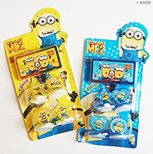 Dm0675 despicable me2 minion rubber stamp set for Rubber stamps arts and crafts