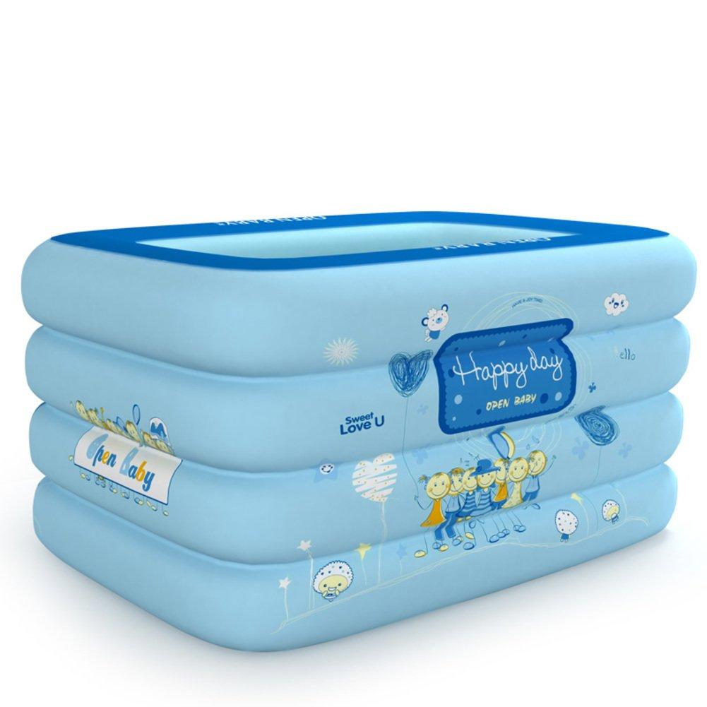 Baby Schwimmbad/Aufblasbare Babyschwimmen Fässer/Schwimmbad für Kinder/Super dick isolierte Schwimmbad/Nationale marine Bällebad-B