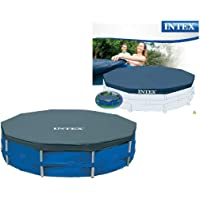 Intex 28030 - Cobertor piscina metálica Metal &
