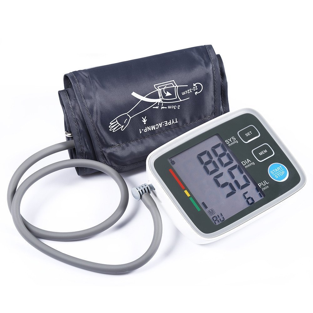 Amazon.com: Fam-health Portable Wrist Blood Pressure Monitor FDA Approved with Large Display, Two User Modes, Adjustable Wrist Cuff,IHB Indicator and 90 ...