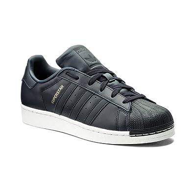 adidas Superstar, Tongs Homme, Blanc/Vert