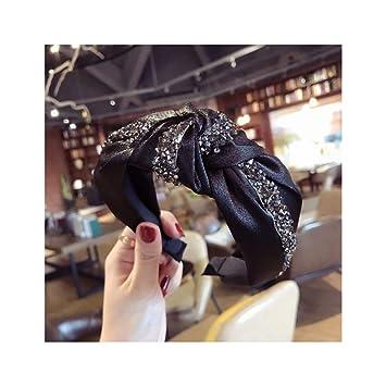 Fashion Wide Women/'s Crystal Headband Hairband Tie Hair Hoop Band Accessories