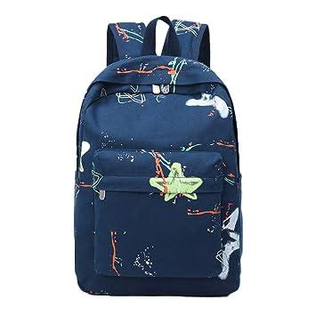 Mnory Colegio Backpack Mochilas Escolares Estudiante ...