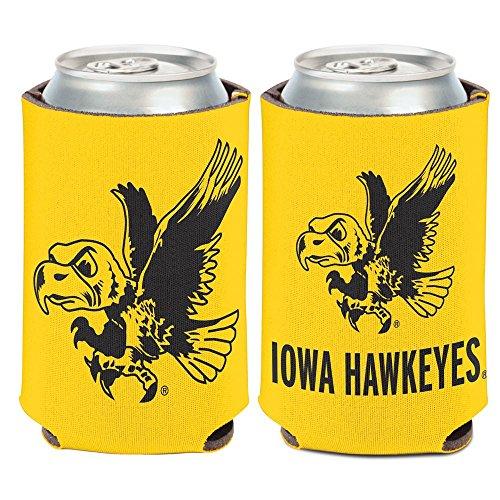 NCAA University of Iowa 26437010 Can Cooler, 12 oz - Ncaa Iowa University