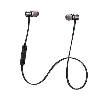Autech wibass, Premium Deep Bass inalámbrico auriculares con cancelación de ruido activa (Bluetooth 4.1
