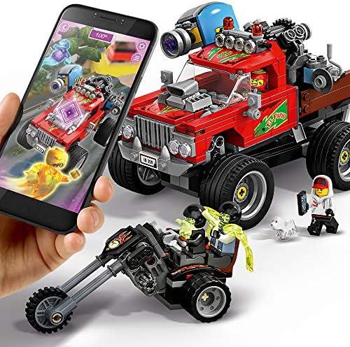 428 un. Lego lateral oculto 70421 el fuegos Stunt Camión Edad 8