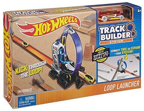 Hot Wheels Workshop Track Builder Loop Launcher Track (Hot Wheels Paper)