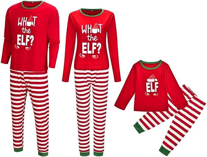Greetuny Pijama Familiar de Navidad Invierno 2020 Disfraz ...