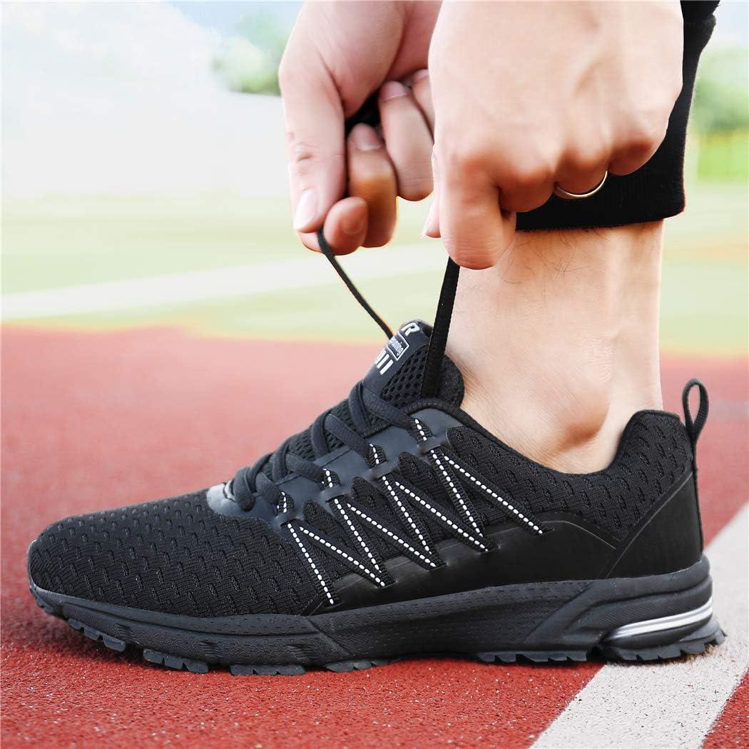 UBFEN Herren Damen Laufschuhe Sportschuhe Turnschuhe Joggingschuhe Walking Sneaker Indoor Outdoor Traillauf Freizeit Fitness Schuhe