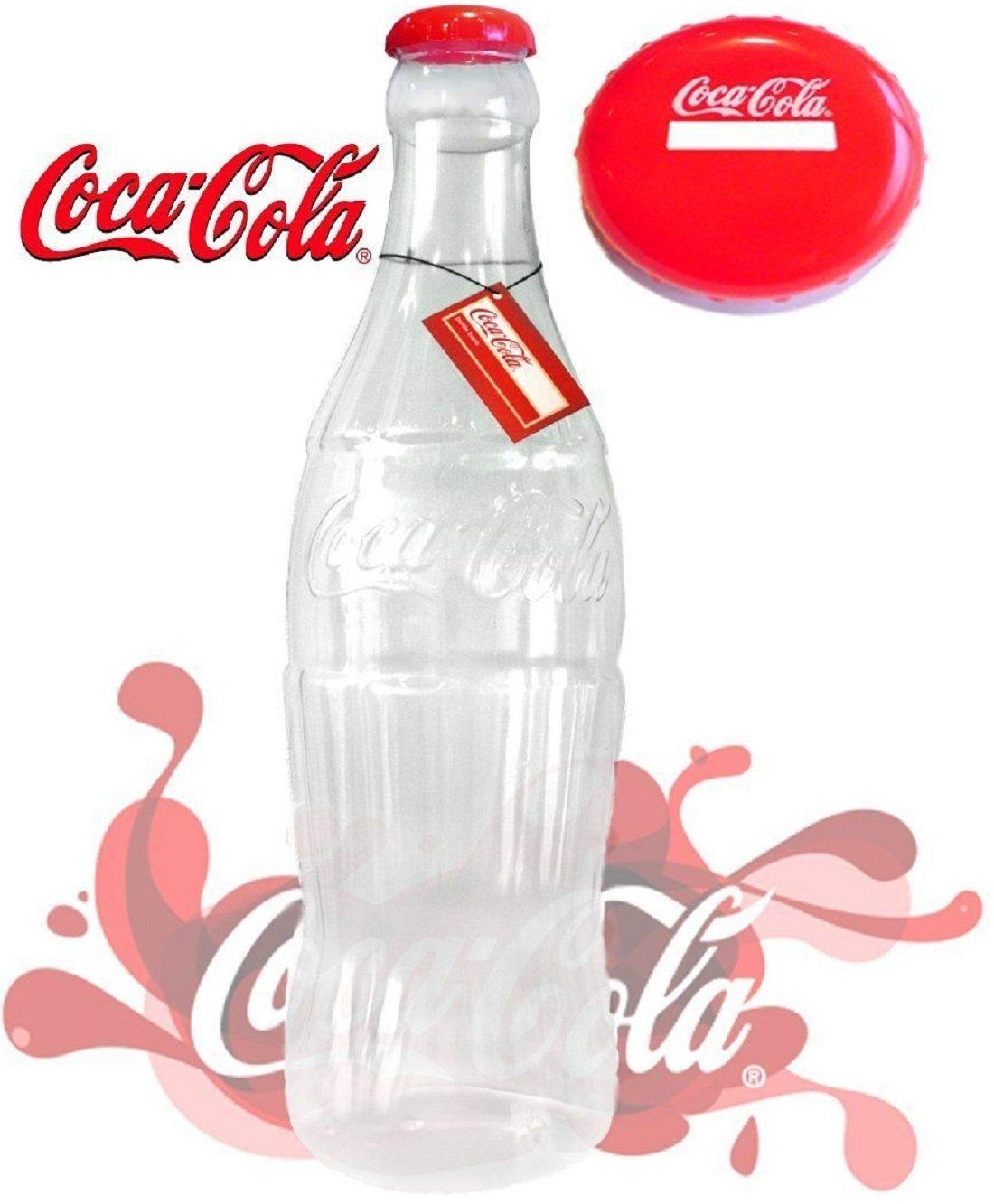 (FF11) Large Stylish Money Bottles Moneyboxes Box Coins Notes Tin Plastic Piggy Bank 60CM/2FT (Original Coca Cola 35cm/1ft)