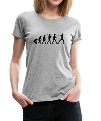 best service 9bf82 e51f0 Spreadshirt Evolution Frauenfußball Frauen Premium T-Shirt ...