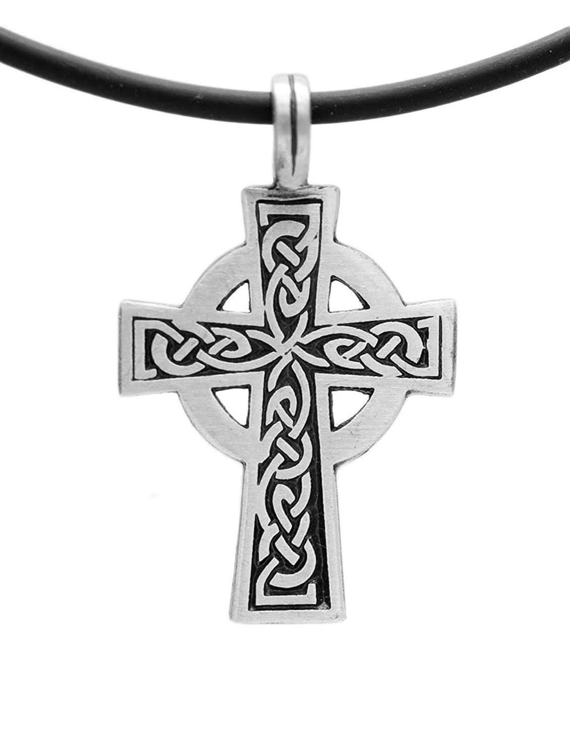 Exoticdream Triskele Magic Merlin Celtic Pewter Pendant 18 Pvc