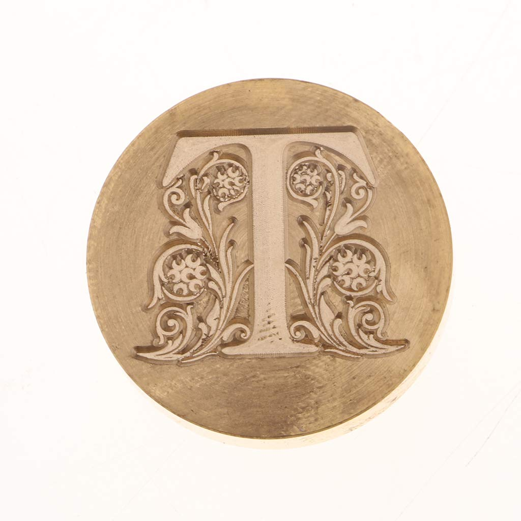 C perfk Vintage Retro Wax Seal as described Sealing Stamp Letter Engraved for Gift