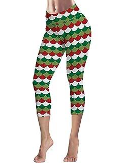 Monroda Womens High Waist Leggings Party Yoga Running Halloween Horrible Mummy Theme