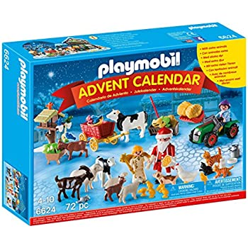 PLAYMOBIL Advent Calendar 'Christmas on the Farm' Playset
